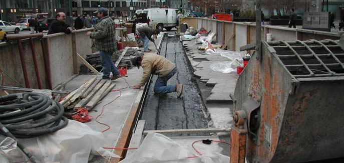 Concrete Repair Contractor Schaumburg Evanston Il