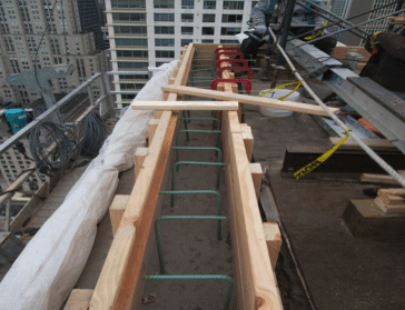 High Quality The Results Led Engineers To Recommend Complete Replacement Of The Roofing,  Decking, Railing, And Rope Descent Systems.